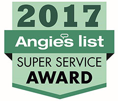 Total Comfort wins Angie's List Super Service Award