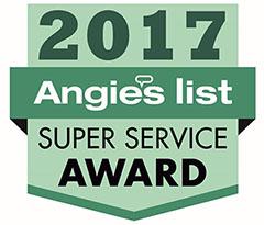 Total Comfort wins Angie's List Super Service Award